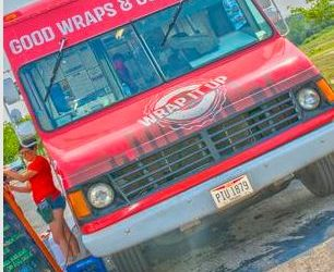 The Wrap It Up Food Truck Sponsored by HIMSS